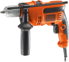 BLACK & DECKER KR714CRESK - Perceuse - 710 watts - orange/noir