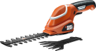 BLACK & DECKER GSL700 - Sculpte-haie/Cisaille à gazon Lithium - 7 volt - orange