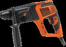 BLACK & DECKER KD975K - Bohrhammer - 710 Watt - Orange/Schwarz