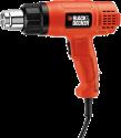 BLACK & DECKER KX1650 - Pistola termica - 1750 watt - arancione