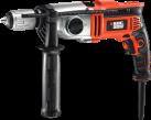 BLACK & DECKER KR8542BK - Schlagbohrmaschine - 850 W - Orange/Schwarz