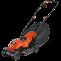 BLACK & DECKER EMAX32S - Rasenmäher - 1200 Watt - Orange/Schwarz