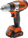 BLACK & DECKER EGBHP146K - Perceuse - 14.4 volt - orange/noir