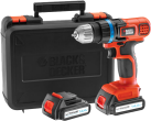 BLACK & DECKER EGBL14KB - Perceuse visseuse - 14.4 volt - orange/noir