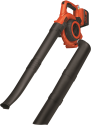BLACK & DECKER GWC3600L20 - Aspirafoglo e soffiatore - 36 volt - nero/arancione