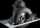 BLACK & DECKER MTTS7 - Mini-Kreissägen-Kopf - Bohrgeschwindigkeit: 0-3400 min/-1 - Schwarz