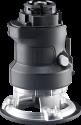 BLACK & DECKER MTRT8 - Oberfräsen-Kopf - Bohrgeschwindigkeit: 0-9000 min/-1 - Schwarz