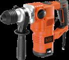 BLACK & DECKER KD1250K - Pneumatischer Bohrhammer - 1250 Watt - Orange/Schwarz