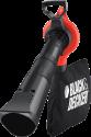 BLACK & DECKER GW3030 - Aspirafogli e soffiatore - 3000 watt - nero/arancione