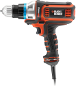 BLACK & DECKER MT350K - Outil oscillatoire - 300 watts - noir/orange