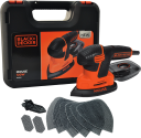 BLACK & DECKER KA2500K - Ponceuse - 120 watts - orange/noir