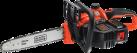 BLACK & DECKER GKC3630L20 - Elettrosega a batteria - 36 volt - arancione/nero