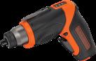 BLACK & DECKER CS3653LC - Tournevis - 3.6 volt - noir/orange