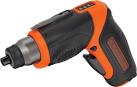 BLACK & DECKER CS3653LC - Svitavvita - 3.6 volt - nero/arancione