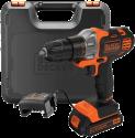 BLACK & DECKER MT218K - Utensile multifunzione - 18 volt - nero/arancione
