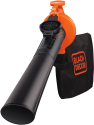 BLACK & DECKER GW2500 - Aspirafoglio e soffiatore - 2500 watt - nero/arancione