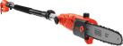 BLACK & DECKER PS7525 - Potatore a filo - 800 watt - arancione/nero