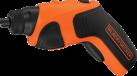 BLACK & DECKER CS3651LC - Tournevis - 3.6 volt - orange/noir