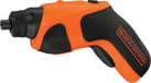 BLACK & DECKER CS3651LC - Svitavvita - 3.6 volt - arancione/nero