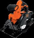 BLACK & DECKER BDCCS18 - Sega circolare - 18 volt - arancione/nero