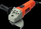 BLACK & DECKER KG115 - Smerigliatrice angolare - 750 watt - arancione