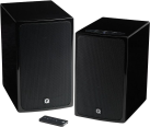 Q-ACOUSTICS BT3 - 1 Paar Bluetooth Lautsprecher - 2 x 50 W - Schwarz