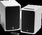 Q-ACOUSTICS BT3 - 1 Paar Bluetooth Lautsprecher - 2 x 50 W - Weiss