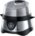 Russell Hobbs Cook@Home - Cuiseur Oeuf - 365 watts -noir/argent