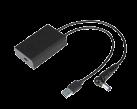 USB-C-Demultiplexer per DOCK180EUZ - Nero
