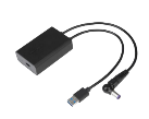 USB-C-Demultiplexer für DOCK180EUZ - Schwarz