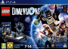 LEGO Dimensions: Starter Pack - incl. figura Supergirl, PS4, tedesco/francese