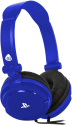 4gamers PRO4-10 - Stereo Gaming Headset - 30 mW - Blau