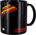Paladone Super Metroid - Tazza con cambio colore - 300 ml - Nero