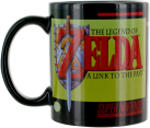 Paladone The Legend of Zelda - A Link to the Past Thermoeffekt-Becher - 300 ml - Schwarz