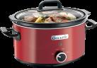 Crock-Pot SCV400RD - Pentola a cottura lenta - 3.5 l - Rosso