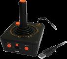 Atari Vault PC Bundle + 100 PC Steam Games - USB Joystick - Schwarz