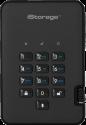 iStorage diskAshur 2 SSD - Disque dur externe - Capacité 256 Go - Noir
