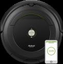 iRobot Roomba 696 - Staubsaugroboter - Ladezeit 2 Stunden - Schwarz