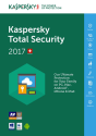 Kaspersky Total Security Multi-Device 2017, 3 PC, PC/MAC, multilingue