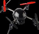 EXTREME FLIERS Micro Drone 3.0 - Drohne - Reichweite bis zu 120m - Schwarz/Rot