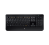 Logitech K800 Wireless Illuminated, schwarz
