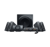 Logitech Surround Sound Speakers Z906, nero, 500 W