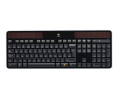 LOGITECH Wireless Solar Keyboard K750 schwarz