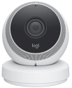 LOGITECH Circle - WLAN-Kamera - HD 1080p - Weiss