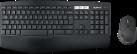 Logitech MK850 - Tastiera e mouse - Wireless - Nero