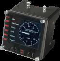 Logitech G Pro Flight Instrument Panel - Cockpit Panel - 15 indicatori - Nero