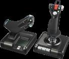 Logitech Saitek X52 Pro - Gaming-Flugsteuerungssystem - 282 programmierbare Befehle - Schwarz