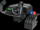 Logitech G Pro Flight Yoke System - Barra di comando e valvola a farfalla - 14 pulsanti - Nero