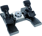 Logitech G Pro Flight Rudder Pedals - Pedaliera per simulatori di volo - Nero