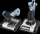 Logitech Saitek X52 - Gaming-Flugsteuerungssystem - 282 programmierbare Befehle - Schwarz/Silber